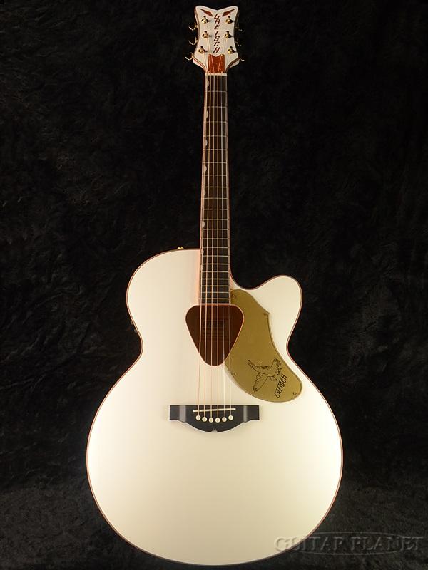 Gretsch G5022CWFE Rancher Falcon 新品[グレッチ][ランチャー][ファルコン][White,ホワイト,白][Electric Acoustic Guitar,アコースティックギター,エレアコ,アコギ]