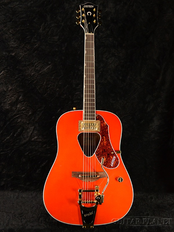 guitar planet gretsch g5034tft rancher new gretsch and launcher orange bitter orange. Black Bedroom Furniture Sets. Home Design Ideas