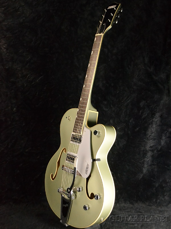 G5420T Gretsch Electromatic Hollow Body Single-Cut with Bigsby Aspen Green brand new [Gretsch] and [electro Ma TIC] [bigsby] [green light] and [Semak/flack] [Electric Guitar, electric guitars]