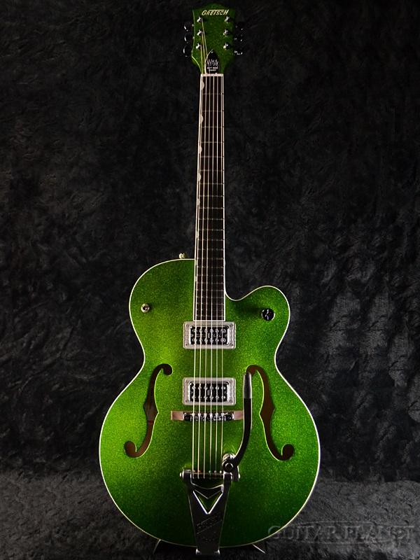 Gretsch G6120SH Brian Setzer Hot Rod -Green Sparkle- 新品 [グレッチ][ブライアンセッツァー][ホットロッド][グリーンスパークル,緑][フルアコ][エレキギター,Electric Guitar]