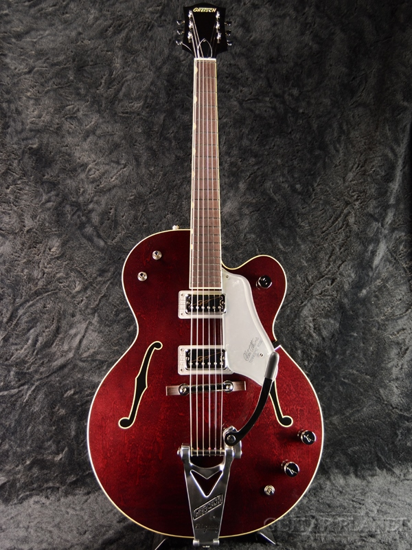 Gretsch G6119T-62 VS Vintage Select Edition '62 Tennessee Rose -Dark Cherry Stain- 新品[グレッチ][Red,レッド,チェリー,赤][テネシーローズ][フルアコ][エレキギター,Electric Guitar]