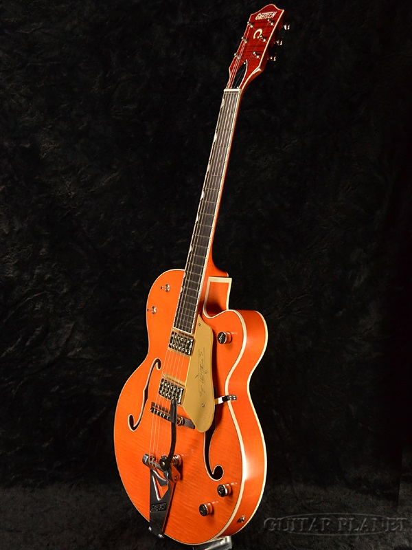 Gretsch FSR G6120 1959LQ SP 切特阿特金斯空心身体复古橙色染色-橙色全新 [Gretsch] [切特阿特金斯,空心体] [电吉他,电吉他,[高射炮] [橙色]