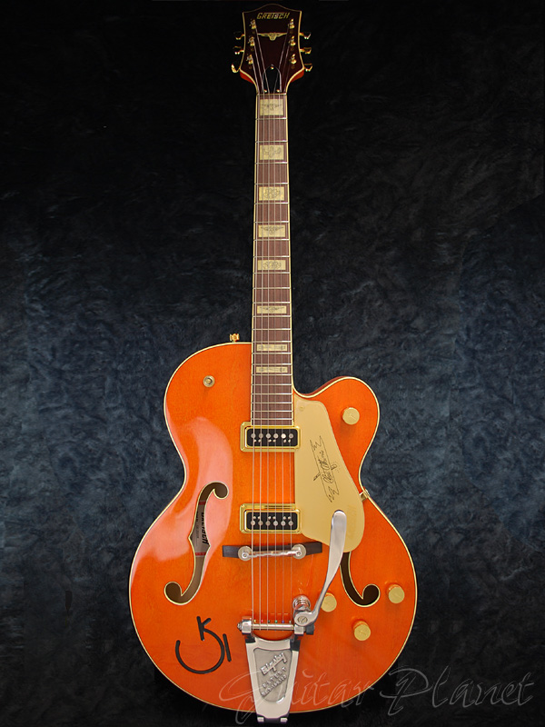 Gretsch G6120CGP Chet Atkins Stereo オレンジ 新品 [グレッチ][チェットアトキンス,ステレオ][エレキギター,Electric Guitar][フルアコ][Orange]