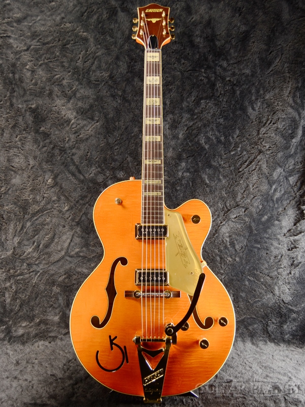 Gretsch G6120T-55 VS Chet Atkins Mod -Western Orange Stain- 新品[グレッチ][チェットアトキンス][オレンジ][フルアコ][エレキギター,Electric Guitar]