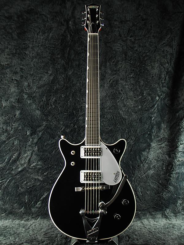 Gretsch G6128T-1962 Duo Jet 新品 ブラック[グレッチ][デュオジェット][Filter Tron,フィルタートロン][ダブルカッタウェイ][エレキギター,Electric Guitar][black,黒]