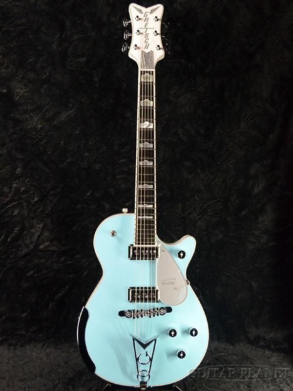 Gretsch G6134MC FSR Motor City Penguin Blue And Semiaco Light Electric Guitar