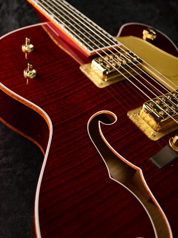 Gretsch G6136T-DCHFL-LTD16 Limited Edition Falcon新货[guretchi][执政官][Red,红,红][semiako,furuako][电子吉他,Electric Guitar]