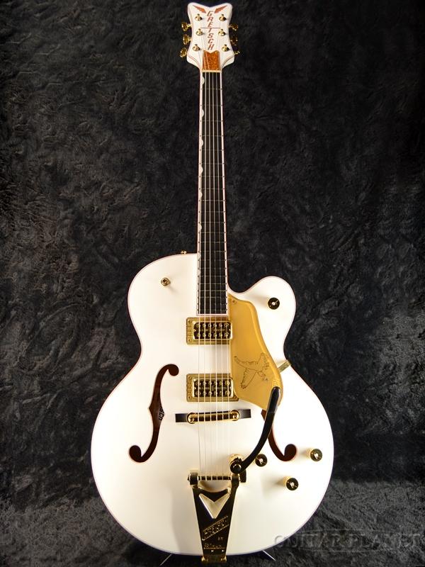 Gretsch G6136T-WHT Players Edition Falcon -White- 新品[グレッチ][ホワイトファルコン][Bigsby,ビグスビー][白][Electric Guitar,エレキギター]