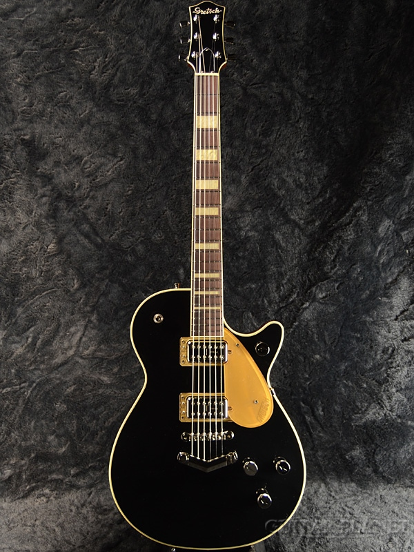 Gretsch G6228 Players Edition Jet BT with V-Stoptail-Black- 新品[グレッチ][ブラック,黒][Electric Guitar,エレキギター]