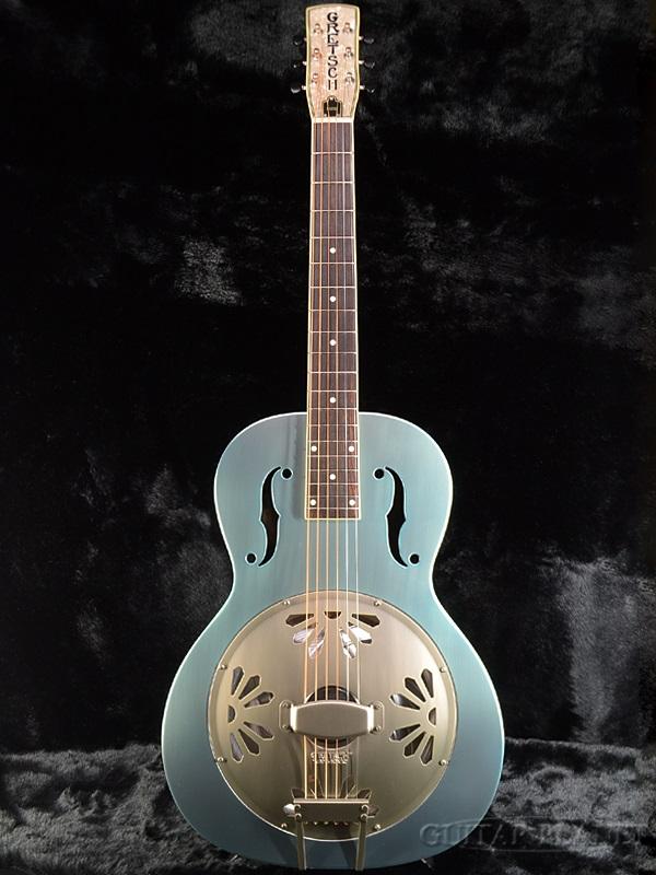 Gretsch G9202 有限颜色品牌新 [Gretsch] 和 [G-9202] [三角洲蓝色,蓝色] [谐振腔,是一种谐振器] [原声吉他,吉他,吉他,