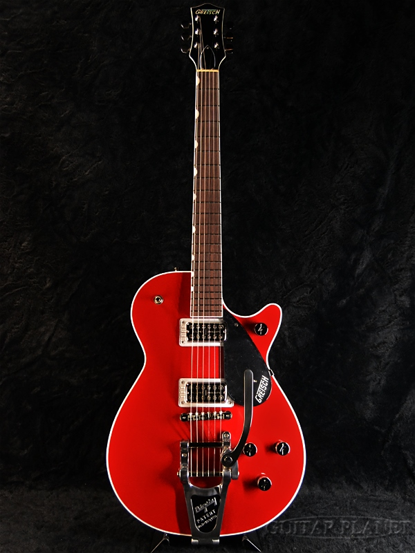 Gretsch G6131T Players Edition Jet FT with Bigsby-Firebird Red- 新品[グレッチ][プレイヤーズエディション][ジェットファイヤーバード][ファイヤーバードレッド,赤][Electric Guitar,エレキギター]