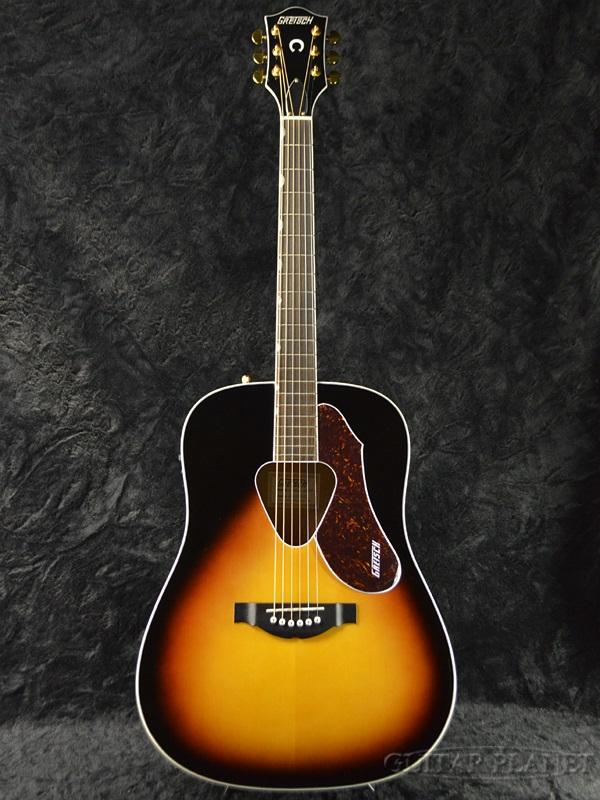 Gretsch Acoustic Guitars >> Gretsch G5024e Rancher Dreadnought Electric Brand New Gretsch And Launcher Sunburst Sunburst Electric Acoustic Guitar Acoustic Electric