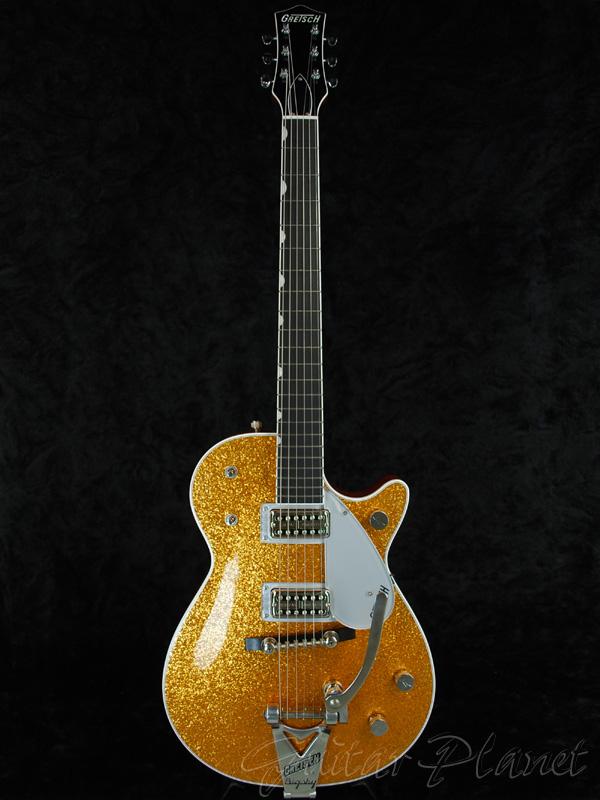Gretsch G6129TAU 闪光的射流 [Gretsch] 和 [火花喷射] [黄金,黄金,黄金] [电吉他,电吉他,