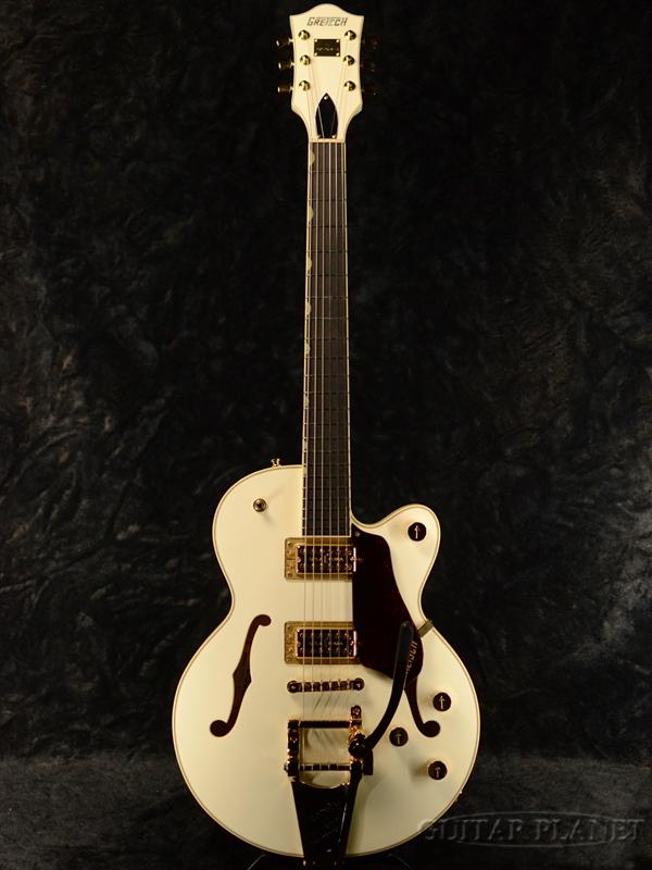 Gretsch G6659TG Players Edition Broadkaster Jr. Center Block Single-Cut,-Vintage White- 新品[グレッチ][ナッシュビル][Bigsby,ビグスビー][ホワイト,白][Electric Guitar,エレキギター]