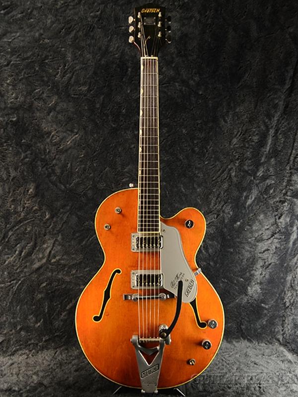 【中古】Gretsch 1966 -Walnut- 1966年製[グレッチ][セミアコ][ウォルナット,茶,木目][Electric Guitar,エレキギター]【used_エレキギター】