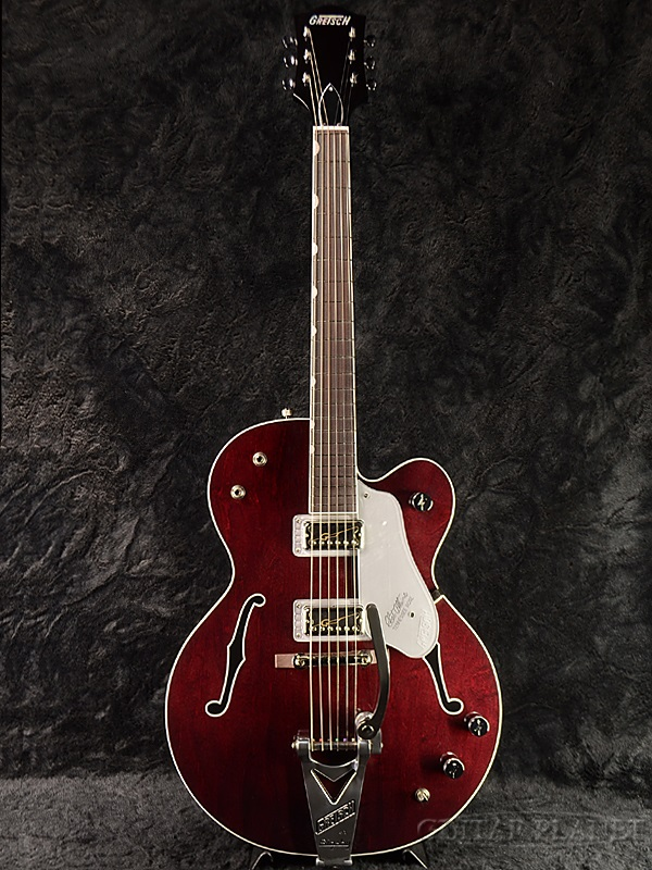 Gretsch G6119-1962HTL Chet Atkins Tennessee Rose[グレッチ][チェットアトキンス][テネシーローズ][フルアコ/ホロウ][Burgundy Stain,赤,Red][エレキギター,Electric Guitar]