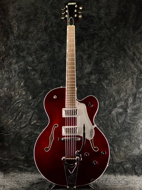 Gretsch G6119T Players Edition Tennessee Rose -Deep Cherry Stain- 新品[グレッチ][テネシーローズ][Bigsby,ビグスビー][Red,レッド,ディープチェリーサテン,赤][Electric Guitar,エレキギター]