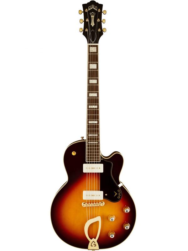 Guild M-75 Aristocrat / ATB 新品[ギルド][Sunburst,サンバースト,木目][Electric Acoustic Guitar,アコースティックギター,エレアコ][Electric Guitar,エレキギター][M75]