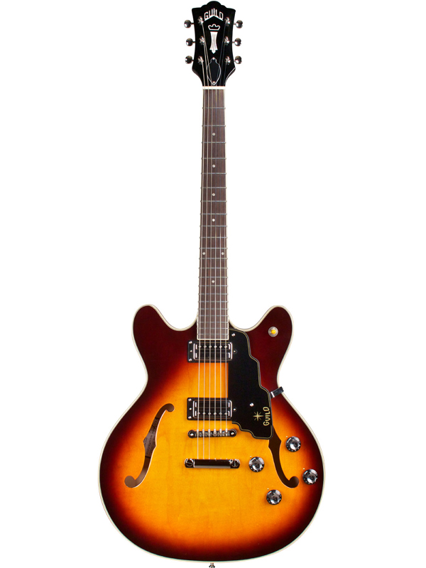 Guild STARFIRE IV ST Maple / ATB 新品[ギルド][Antique Burst,アンティークバースト,サンバースト,木目][Electric Acoustic Guitar,アコースティックギター,エレアコ][Electric Guitar,エレキギター]