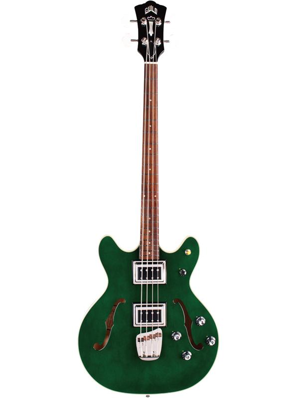 Guild STARFIRE BASS II GRE 新品 エメラルドグリーン[ギルド][スターファイア,2][セミアコベース][Emerald Green,緑,木目][Electric Bass,エレキベース]