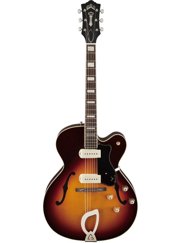 Guild X-175 MANHATTAN / ATB 新品[ギルド][Sunburst,サンバースト,木目][Electric Acoustic Guitar,アコースティックギター,エレアコ][Electric Guitar,エレキギター][X175]