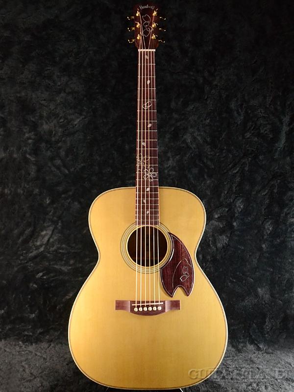 【CNBギグバッグ・プレゼント!】【限定6本生産】Headway Aska Team BuildHF-SAKURA DX III 新品[ヘッドウェイ][国産/日本製][桜,ソメイヨシノ][Acoustic Guitar,アコースティックギター,アコギ,Folk Guitar,フォークギター]