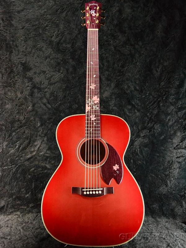 【限定生産】Headway Aska Team Build HF-Someiyoshino '18 新品[ヘッドウェイ][国産/日本製][Red Burst,レッドバースト,赤][ソメイヨシノ][Acoustic Guitar,アコースティックギター,アコギ,Folk Guitar,フォークギター]
