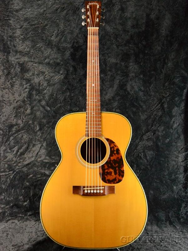 【中古】Headway Custom Series CF-115 ~Build By YASUO MOMOSE~ 2002年製[ヘッドウェイ][国産][百瀬恭夫][Acoustic Guitar,アコースティックギター,アコギ,Folk Guitar,フォークギター]【used_アコースティックギター】
