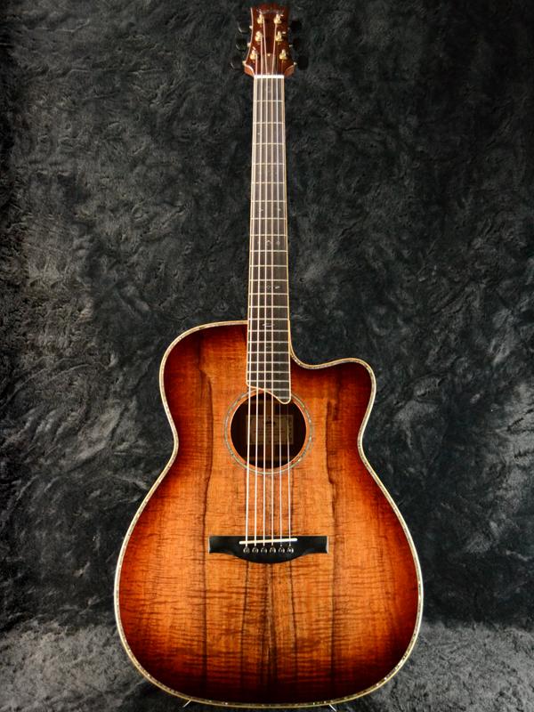 【AAAAAコア】Headway Custom Shop HC-KOA CUSTOM ~Build by M.Yasui~ 新品[ヘッドウェイ][カスタムショップ][Sunburst,サンバースト,木目][Acoustic Guitar,アコースティックギター,Folk Guitar,フォークギター]