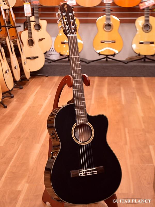 【アウトレット特価!】Headway HEG-975SE BLK 新品[ヘッドウェイ][ピックアップ搭載][ブラック,黒][Classical Guitar,クラシックギター,エレガット]