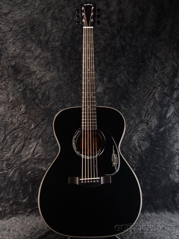 【限定8本!】Headway Aska Team Build HF-JET 黒 新品[ヘッドウェイ][ブラック,黒][Acoustic Guitar,アコギ,アコースティックギター,Folk Guitar,フォークギター]
