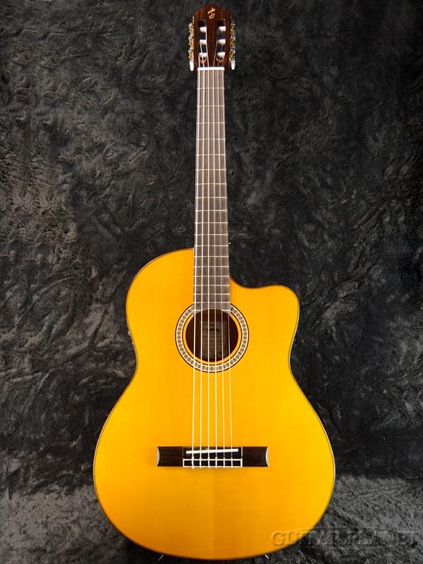 【アウトレット】Headway HEG-975SE 新品[ヘッドウェイ][ピックアップ搭載][Classical Guitar,クラシックギター,エレガット]