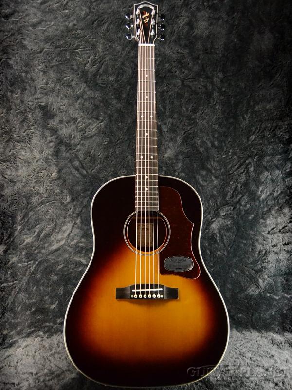 Headway Japan Tune-up Series HJ-5080SE Sunburst 新品[ヘッドウェイ][ジャパンチューン][サンバースト][エレアコ][Acoustic Guitar,アコギ,アコースティックギター,Folk Guitar,フォークギター]