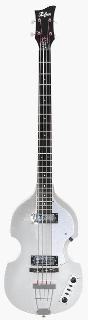 【限定生産】Hofner Ignition Bass Silver Metallic 新品[ヘフナー][イグニション][シルバーメタリック,銀][Violin Bass][Electric Bass,エレキベース]