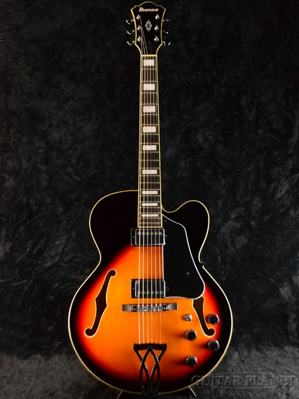 Ibanez AF75-BS 新品 [アイバニーズ][アートコア][Brown Sunburst,ブラウンサンバースト][フルアコ][Electric Guitar,エレキギター]