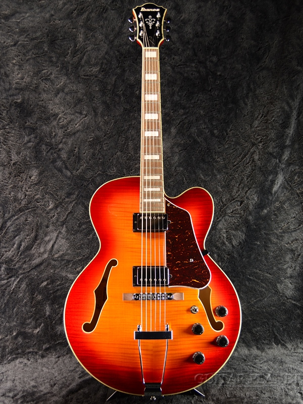 Ibanez Artcore AF75FM -AWB (Aged Whisky Burst)- 新品 [アイバニーズ][アートコア][エイジドウイスキーバースト,木目][フルアコ][Electric Guitar,エレキギター]