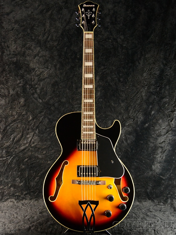 Ibanez AG75-BS 新品 [アイバニーズ][アートコア][Brown Sunburst,ブラウンサンバースト][フルアコ][Electric Guitar,エレキギター]