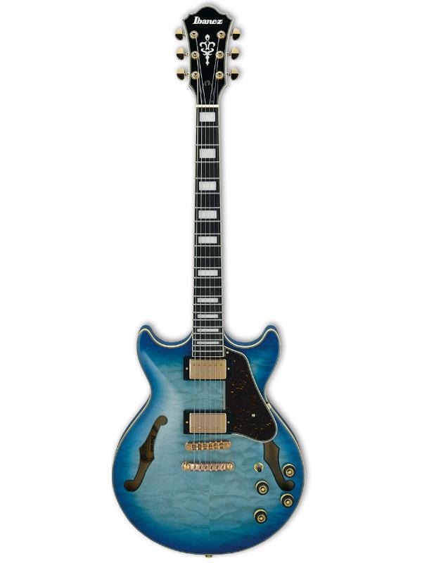 Ibanez Artcore Expressionist AM93QM JBB 新品 [アイバニーズ][アートコア][Jet Blue Burst,ジェットブルーバースト,青][セミアコ][Electric Guitar,エレキギター]