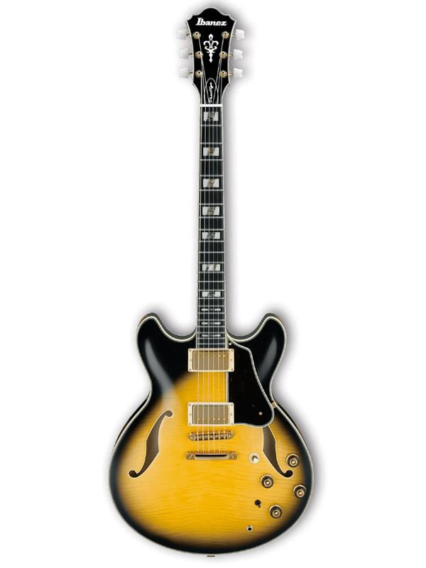 Ibanez ARTSTAR AS200 VYS 新品[アイバニーズ][Vintage Yellow Sunburst,イエローサンバースト,黄][Semi Acoustic,セミアコースティック][Electric Guitar,エレキギター]