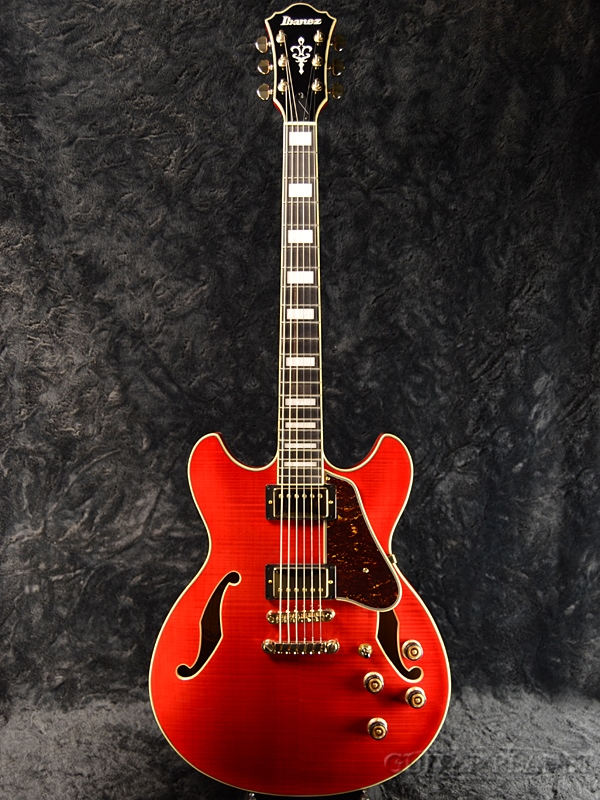 Ibanez AS93FM TCD -Transparent Cherry Red- 新品[アイバニーズ][チェリーレッド,赤][フルアコ/セミアコ][Electric Guitar,エレキギター]
