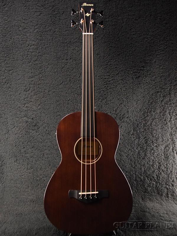 Ibanez AVNB1FE BV 新品[アイバニーズ][ブラウンバイオリン][フレットレス][コンパクトサイズ][Electric Acoustic Bass,エレクトリックアコースティックベース,アコべ]