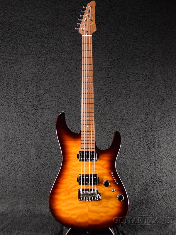 Ibanez AZ2402Q RBB new article [Aiba needs] [Regal Brown Burst, brown, tea]  [Stratocaster, ストラトキャスタータイプ] [Electric Guitar, electric guitar]