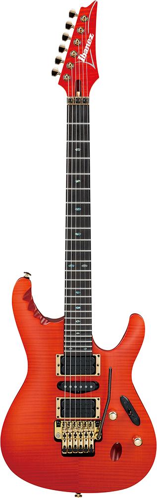 Ibanez EGEN18-DRG Dragon's Blood 新品[アイバニーズ][Herman Li,ハーマン・リ][ドラゴンザブラッド,オレンジ][Stratocaster,ストラトキャスタータイプ][Electric Guitar,エレキギター]