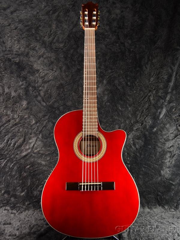 Ibanez GA30TCE/TRD 新品[アイバニーズ][レッド,赤][Acoustic Guitar,アコギ,アコースティックギター,Classic Guitar,クラシックギター,エレガット]