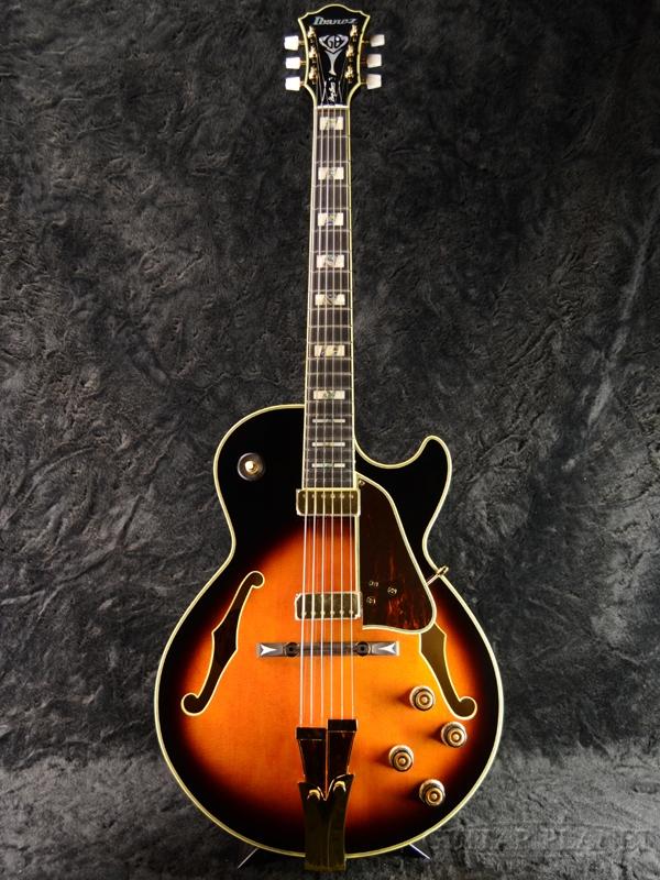 Ibanez GB10 Brown Sunburst George Benson Signature Model 新品[アイバニーズ][国産][ジョージベンソン][ブラウンサンバースト][フルアコ][エレキギター,Electric Guitar]