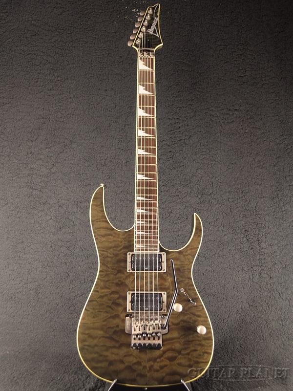 【中古】Ibanez RGT42SE Transparent Black 2002年製[アイバニーズ][RGシリーズ][トランスペアレントブラック,黒][Stratocaster,ストラトキャスタータイプ][Electric Guitar,エレキギター]【used_エレキギター】