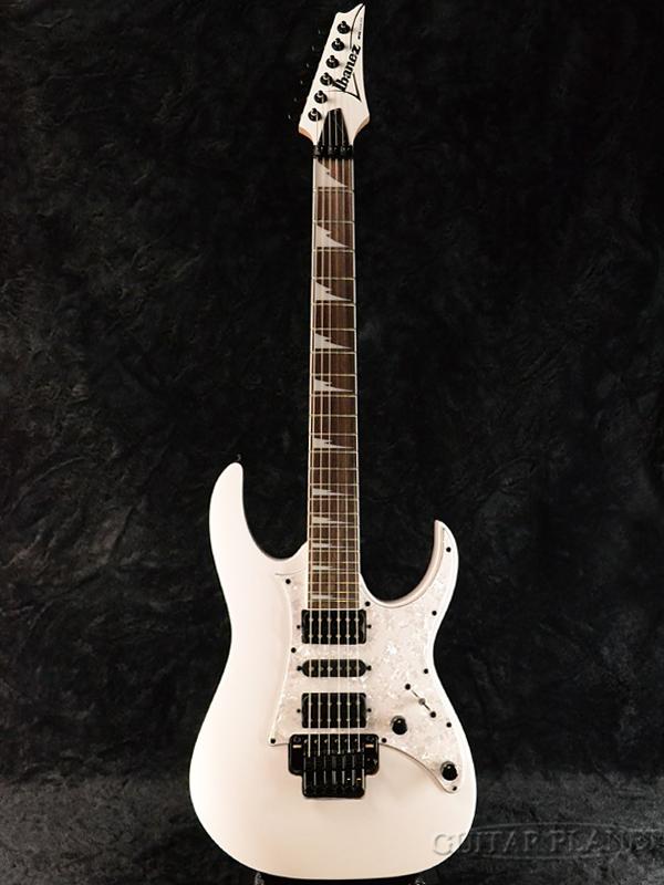 Ibanez RG350DXZ-WH 新品[アイバニーズ][White,ホワイト,白][Stratocaster,ストラトキャスタータイプ][Electric Guitar,エレキギター]