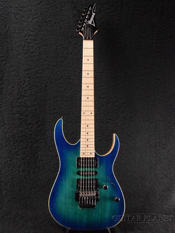 Ibanez RG370AHMZ-BMT Blue Moon Burst 新品[アイバニーズ][ブルームーンバースト,青][Stratocaster,ストラトキャスタータイプ][Electric Guitar,エレキギター]