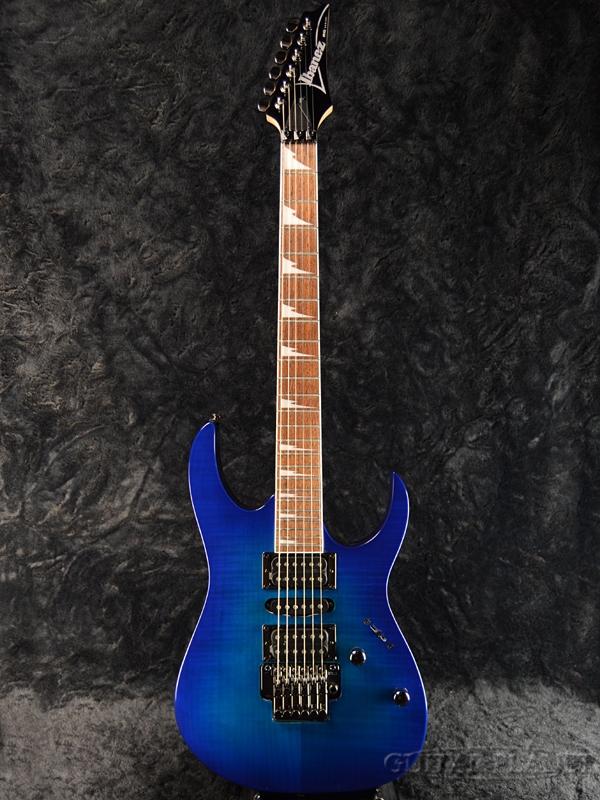 Ibanez RG370FMZ 2018 NEW Color SPB 新品[アイバニーズ][RGシリーズ][Sapphire Blue,サファイアブルー,青][Stratocaster,ストラトキャスタータイプ][Electric Guitar,エレキギター]