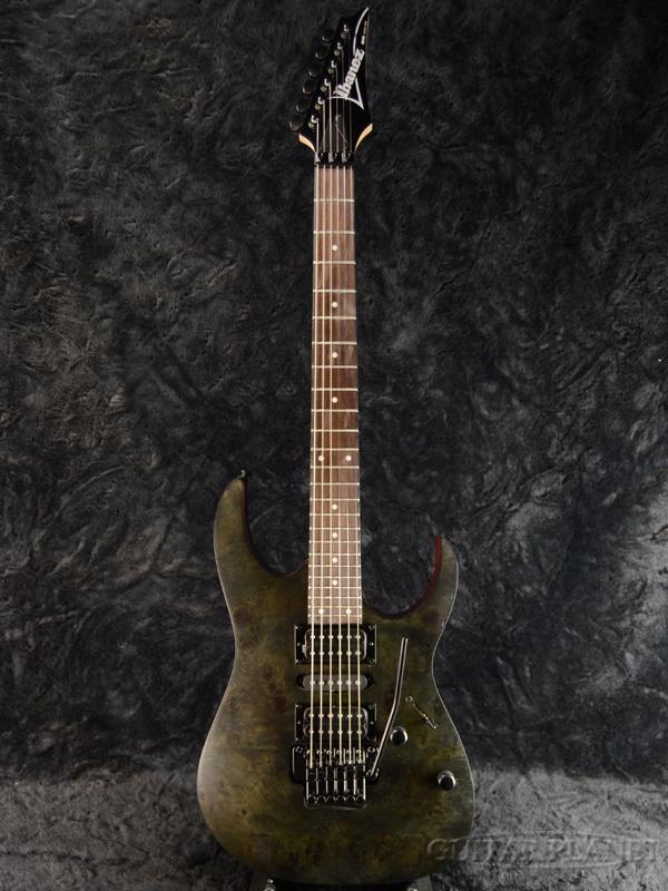 Ibanez RG370PBZ-TGF 新品[アイバニーズ][Black,ブラック,黒][Stratocaster,ストラトキャスタータイプ][Electric Guitar,エレキギター]